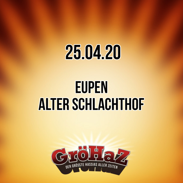 Neue GröHaZ EU-Shows